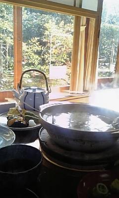 念願の湯豆腐