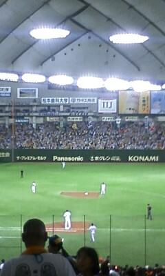 巨人vs阪神戦